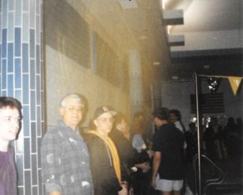 Dad and I on senior night vs Zionsville 1993