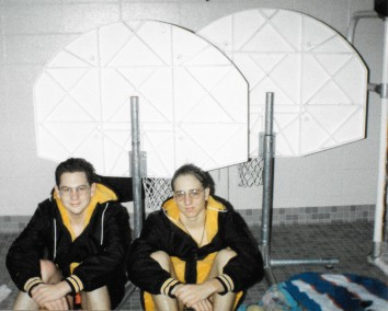Senior class, 1993 (Jon Beard and I)