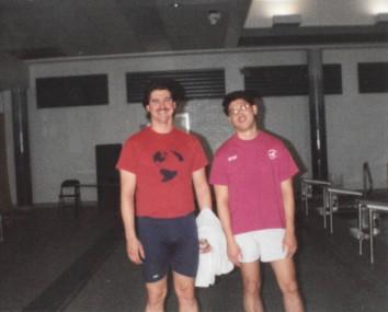Coach Matt Lohsl and Coach Steve Haw
