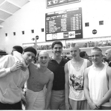 Lebanon 14th place state 200 Freestyle relay team, 1992
