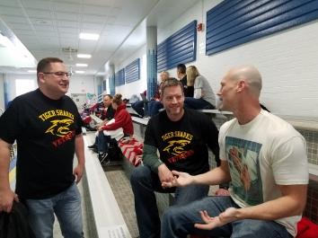 Jon Beard, Mark Ullom and Chris Clay