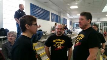 Ben Griggs, George Roach and Matt Lohsl