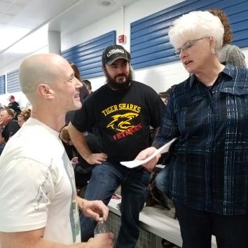 Chris Clay, Matt Pullen and Cathy Ullom