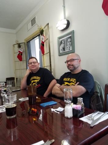 Jon Beard and George Roach
