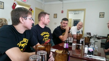Ben Griggs, Mark Ullom, Eric Forrester and Chris Clay