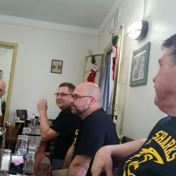 Chris Clay, Jon Beard, George Roach and Matt Lohsl