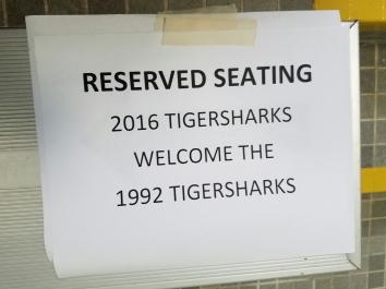 Current Tiger Sharks welcome Tiger Shark veterans