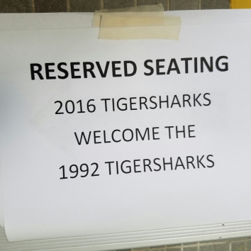 Current Tiger Sharks welcome Tiger Shark veterans